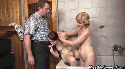 Old couple, Mature couple, Young threesome, Old couples