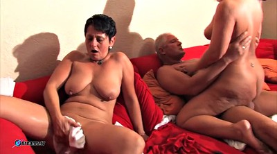 Mature couples, Couple threesome