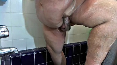Small gay, In the shower