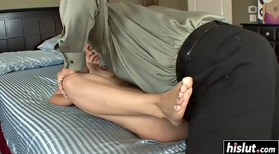 Foot job, Ass licking, Feet job