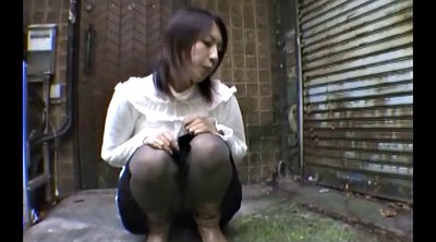 Spit, Japanese girl