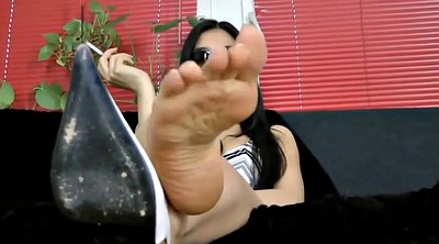Asian foot, Asian femdom, Asian feet