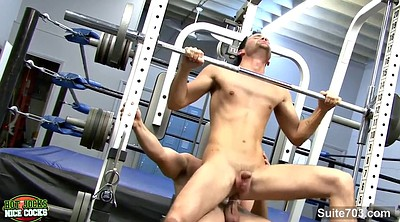 Training, Hardcore anal, Gym anal, But, Sucking ass, Gay gym