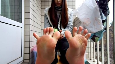 Chinese teen, Chinese foot, Chinese c, Chinese feet, Sole, Chinese fetish