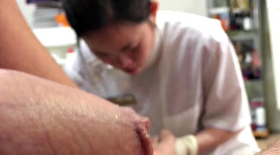 Small cock, Small asian, Cum public