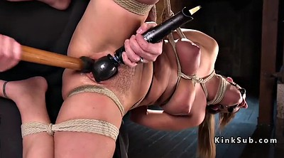 Whipping, Hogtied, Hard sex, Chair
