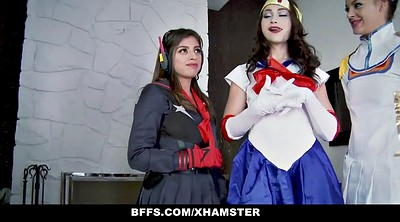 Cosplay, Orgy, Bff