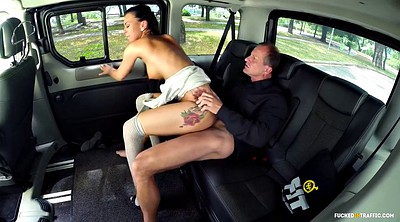Czech public, Traffic, Fuck in car