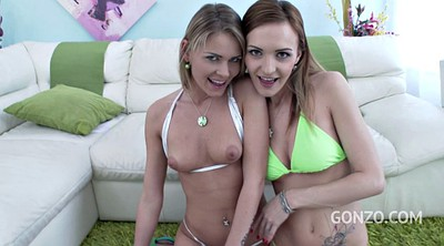 Double, Anal group, Teen blonde