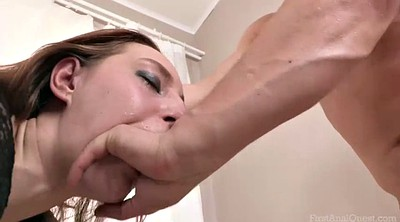 Cfnm, Moon, Leggy, First blowjob, First anal