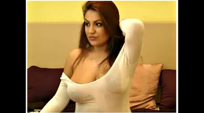 Shirt, Big nipples, Web cam, Great
