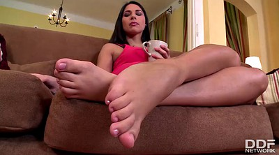 Lesbian feet, Fit, Threesome feet, Russian fuck