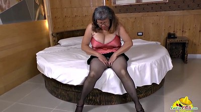 Granny solo, Chubby milf, Chubby mature