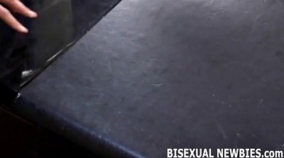 Bisexual, Sucking, Bisexual threesome