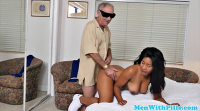 Old and young, Old grandpa, Young cock, Firsttime, Black grandpa, Black cock old