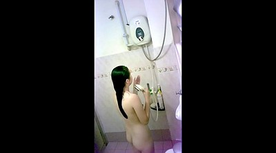 Chinese teen, Hidden shower, Chinese girlfriend, Chinese shower, Chinese hidden, Teen chinese