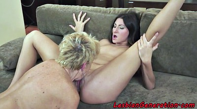 Lady, Teens rimming, From behind, Ass lick lesbian