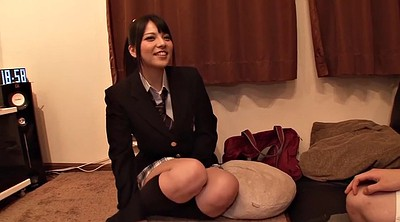 Uniform, Japanese schoolgirl, Japanese blowjob