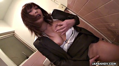 Masturbation, Japanese solo, Hairy solo, Japanese office, Finger masturbation