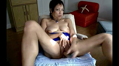 Asian granny, Asian mature, Webcam mature