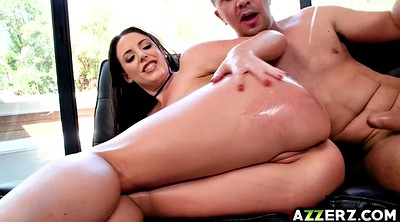 Angela white, White ass