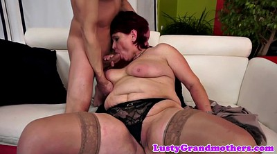 Grandma, Hard fucking, Stocking granny, Mature stocking