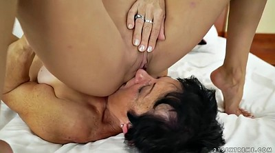 Big ass, Russian young, Russian granny, Old and young lesbians