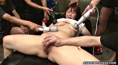 Japanese bdsm, Hairy orgasm, Gape, Asian dildo