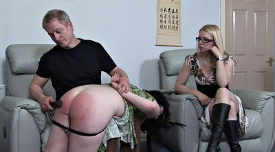 Aunt, Uncle, Plump, Spank girl