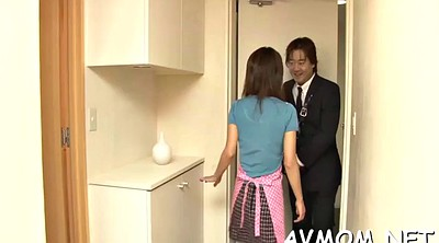 Japanese mom, Japanese mom blowjob