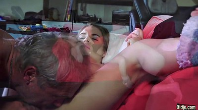 Swallow, Teen pussy, Granny porn, Bald pussy