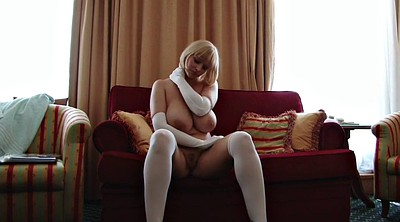 Gloves, Glove, Stocking mature, Sophie, Mature stockings, Hairy stockings
