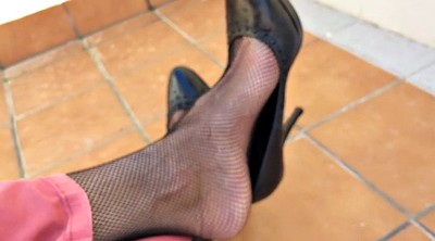 Nylon, Nylon feet, Nylon foot, Shoeplay
