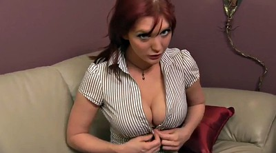 Joi big tits, Veronica, Stroke, Redheads