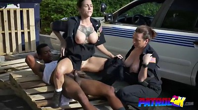 Police, Intense, Black tits