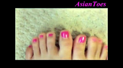 Korean s, Korean k, Asian feet