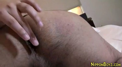 Asian gay, Bath anal, Anal solo