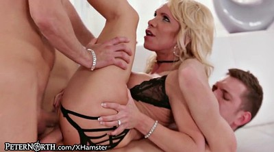 Double penetration, Hot wife, Peter north, Wife dp