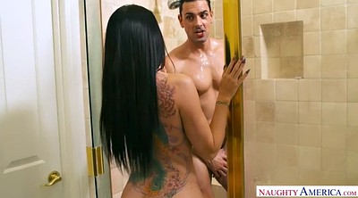 Seduce, Romi rain, Chubby shower