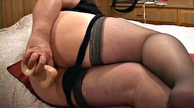 Bbw anal, Stockings solo, Stocking anal, Solo stockings, Milf nylon