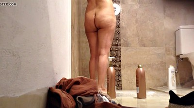 Hidden cam, Shower, Spy cam, Mature hidden