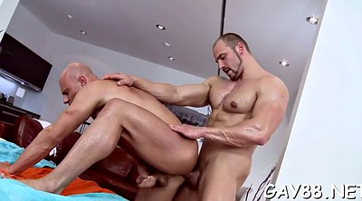 Gay massage, Ripped, Oil massage, Hit, Oiled body