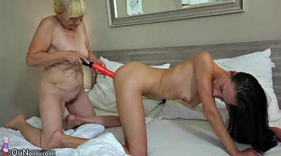 Young girl, Old and young lesbian, Lesbians mature young