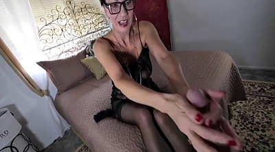 Nylon feet, Nylon footjob
