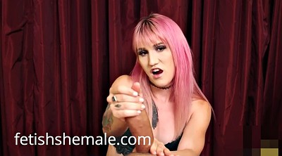 Shemale handjob, Kelly