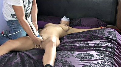 Tied up, Public bondage, Hand cum, Public bdsm
