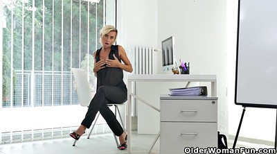 Office, Mature dildo