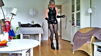 Sissy, Leather, Boots m
