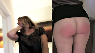 Caught, Wife spanking