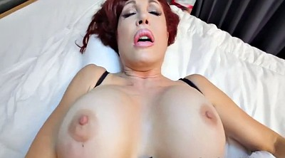 Pov mom, Stockings mom, Stocking mom, Mom pov, Big tits mom